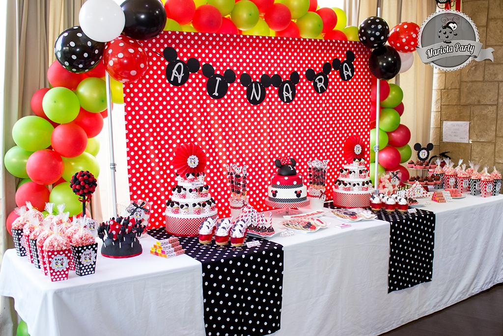 Mariota party for Backdrop para mesa de dulces